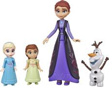 Hasbro E6913ES0 Disney Die Eiskönigin 2 Kleine Puppen Familien-Set
