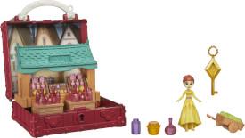 Hasbro E7080ES0 Disney Die Eiskönigin 2 Pop-Up Abenteuer Koffer Spiel-Set Potion Dorfset