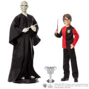 Mattel GNR38 Harry Potter Lord Voldemort & Harry Potter Puppen 2er-Pack