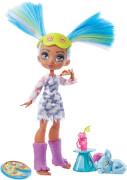 Mattel GTH06 Cave Club Pyjamapartyspaß mit Tella Spielset & Puppe