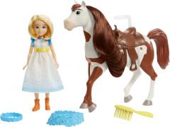 Mattel GXF65 Spirit Festival Puppe & Pferd - Abigail + Boomerang