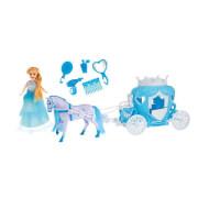 TOITOYS ICE PRINCESS Pferd mit Kutsche inkl. Puppe 15cm