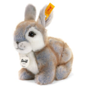 Steiff Happy Kaninchen, grau, 18 cm
