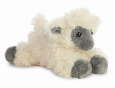Mini Flopsies Black Face Sheep 8In