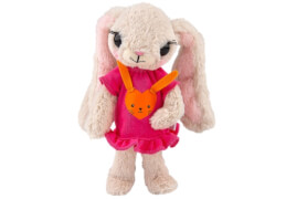 Depesche 8852 House of Mouse Bunny Betty Plüsch, 25cm