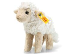 Steiff Flocky Lamm, creme/beige, stehend, 15 cm