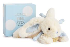 Doudou - Bonbon Hase,blau 25cm