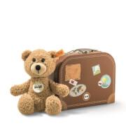 Steiff Teddybär Sunny, beige, im Koffer, 22 cm