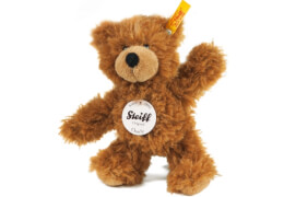Steiff Charly Schlenker Teddybär, braun, 16 cm