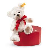 Steiff Teddybär Sweetheart, creme in Herzbox, 22 cm