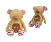 LIEF Betsy the Bear pink, 60cm