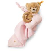 Steiff Schlaf Gut Bär 3 in 1, rosa, 16 cm