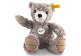 Steiff Teddybär Lucky, grau, 27 cm
