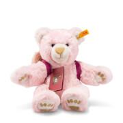 Steiff Teddybär Lula Weltenbummlerin, rosa, 38 cm