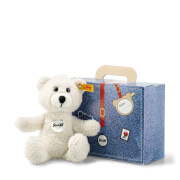 Steiff Teddybär Sunny, creme im Koffer, 22 cm