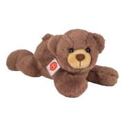 Teddy Hermann Teddy, liegend, schokobraun, 32 cm