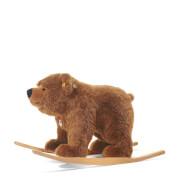 Steiff Urs Reit-Bär, braun, 70 cm