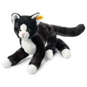 Steiff Mimmi Schlenker Katze, schwarz, 30 cm