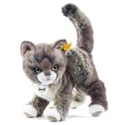 Steiff Kitty Katze, grau/beige, 25 cm