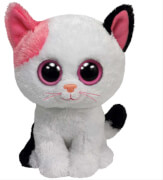 Ty Muffin-Katze weiss / pink, ca. 15 cm