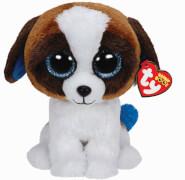TY Duke - Hund weiss/braun, 24cm