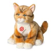 Teddy Hermann Katze rot getigert, ca. 30 cm