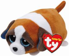 TY GYPSY BROWN WHITE DOG TEENY TY