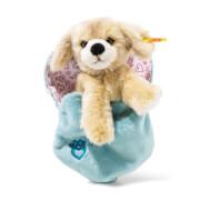 Steiff Kelly Hund, blond im Herzbeutel, 15 cm