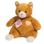Teddy Hermann Katze Mme Miau, 24 cm