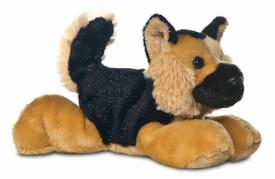 Mini Flopsies - Shep German Shepherd 8In