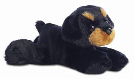Mini Flopsies - Raina Rottweiler 8In
