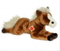 Teddy Hermann Pferd liegend, ca. 51 cm