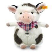 Steiff Kuh Mini Cowaloo, weiß/schwarz gefleckt, 18 cm