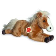 Teddy Hermann Pferd liegend, 39 cm