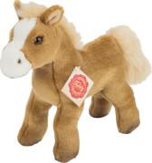 Teddy Hermann Pferd mit Stimme hellbraun 19 cm