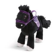 Pferd Black Cassis, 16cm steh