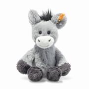 Steiff Dinkie Esel 20 cm graublau