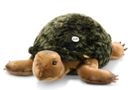 Steiff SLO Schildkröte, grün gefleckt, 70 cm