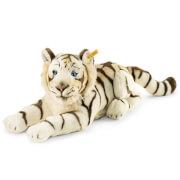 Steiff Bharat Tiger, weiß, liegend, 43 cm