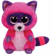 TY Roxie - Waschbär pink/lila, 24cm