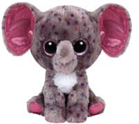 TY Specks - Elefant gepunktet, 15cm