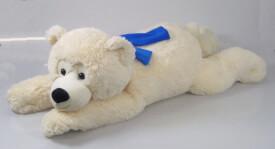 Eisbär liegend, ca. 100 cm