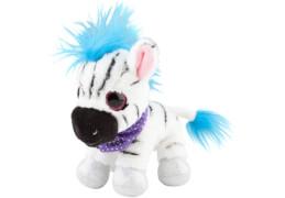 Depesche 5347 SNUKIS Plüsch 18 cm, Cecil das  Zebra