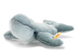 Steiff Blauwal Baby, blaugrau, 24 cm