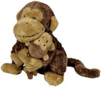 Affe Mama & Kind  Lustige Tierparade (mit Magneten)