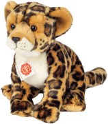 Teddy Hermann Leopard sitzend, 27 cm