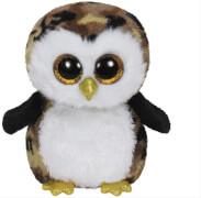 Ty Owliver-Eule schwarz / braun, ca. 15 cm
