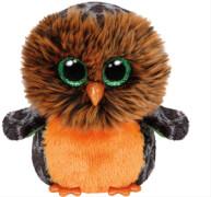 Ty Midnight-orange/braune Eule, ca. 15 cm