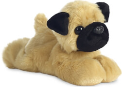 Mini Flopsie Mr. Pugster Mops, ca 20,5 cm