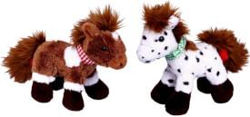Pony Anton & Paco zum Aufziehen Mein kleiner Ponyhof, sortiert